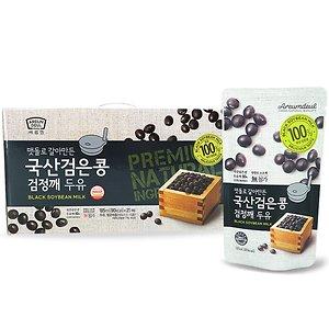 100%국산콩 검은콩 검정깨 두유 84팩/전체식/전두유