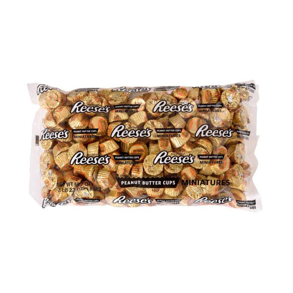 sm / hersh recessed peanut butter cup miniature 1.89kg Reeses