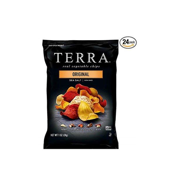Terra Chips Original chip real vegetables 28gx24 rod TERRA