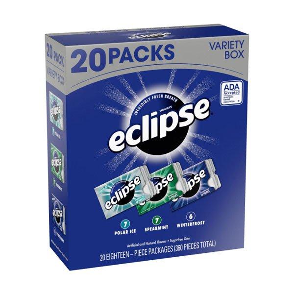 sm / sugar Gum Variety 20 Packs Eclipse