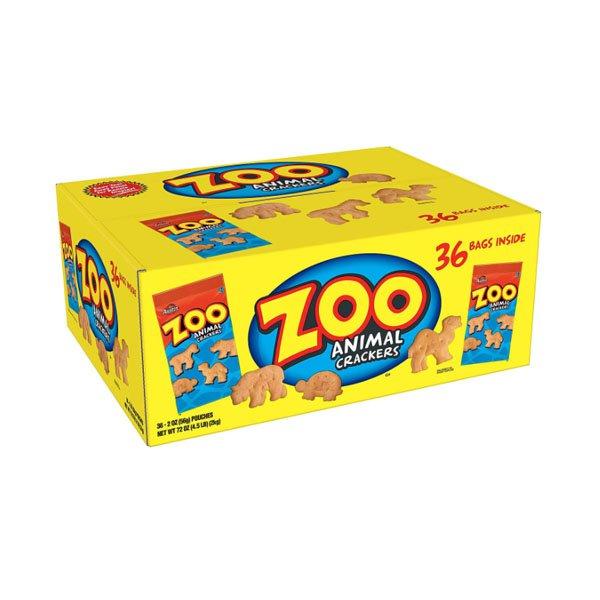 sm / Kellogg's Austin Zoo Crackers Animal Cookies 56gx36 pieces