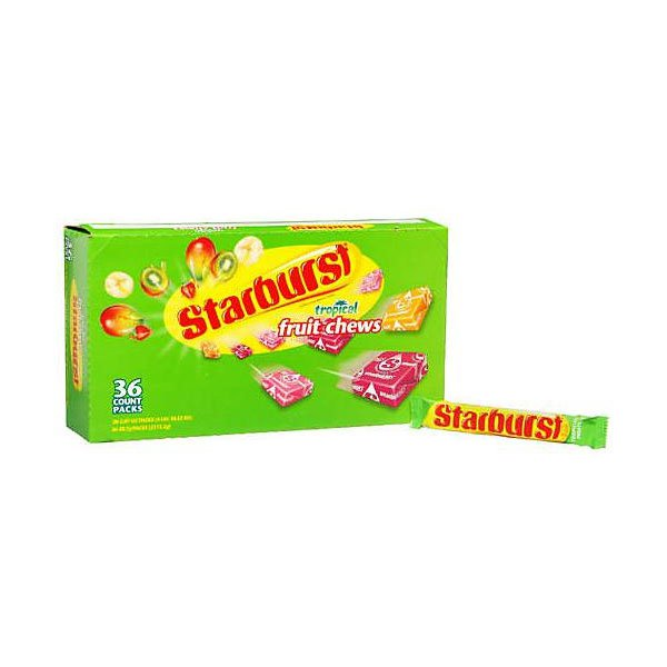 smrigley starburst tropical fruit candy-36 wrigley