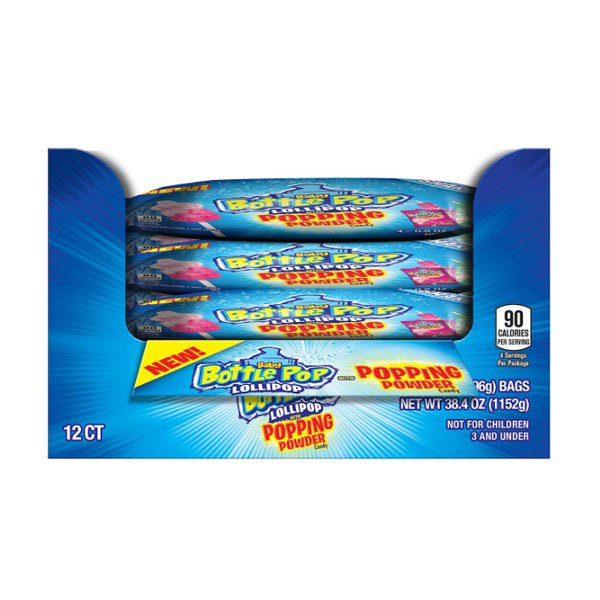 Sm / baby bottle pop candy 12 pack Topps Co Baby Bottle Pop