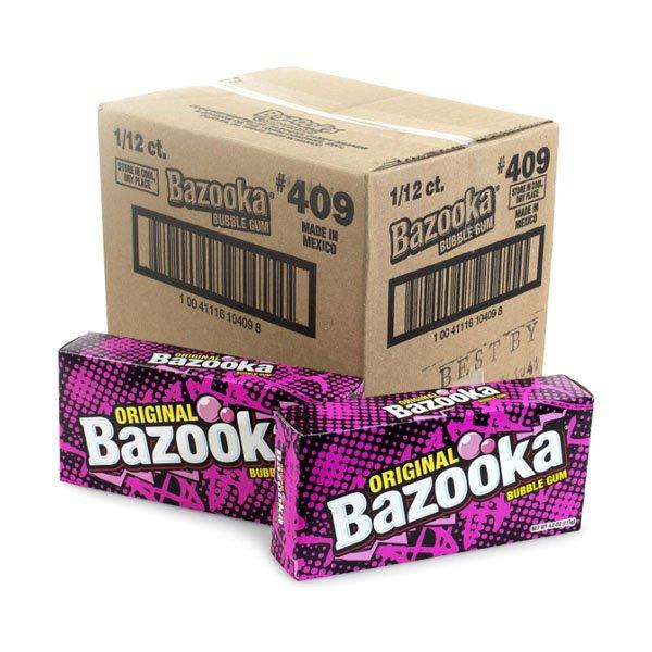 sm / bubble gum bubble gum Bazooka Party Box 12 ct.