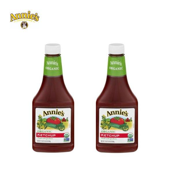 w / Annie's Organic Ketchup 680gx2 Dog Annies Ketchup
