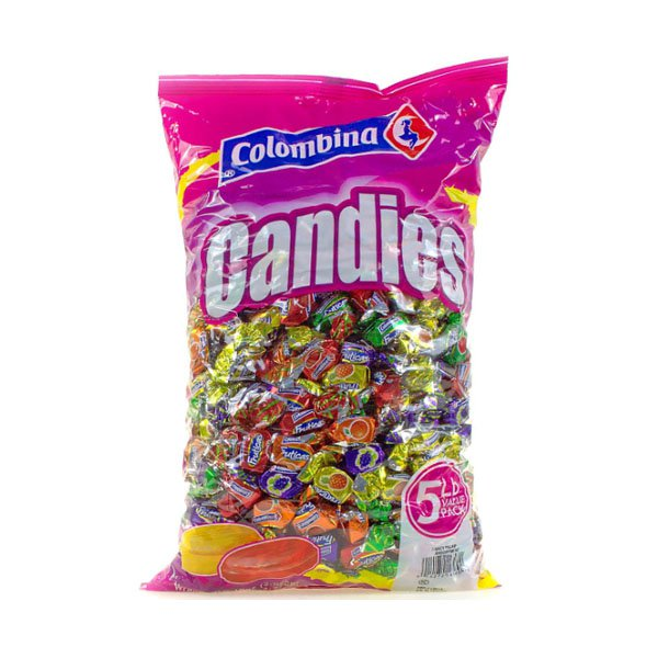 Sm / Fruit Hard Candy Candy 80oz Colombina Candies