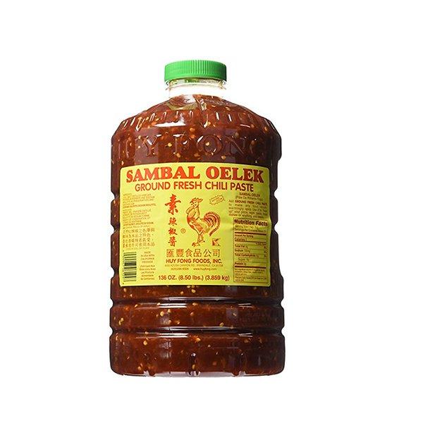 Oleg dalpyo sambal chili sauce 136oz Huy Fong Sambal Oelek