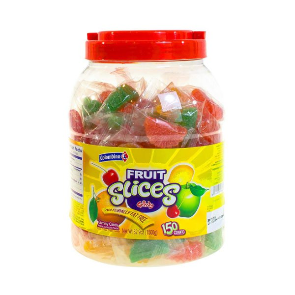 sm / slice fruit jelly collection 150 pieces Columbina