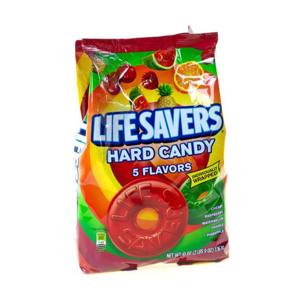 sm / Maz Life Savers Hard Candy 1.16kg Lifesavers