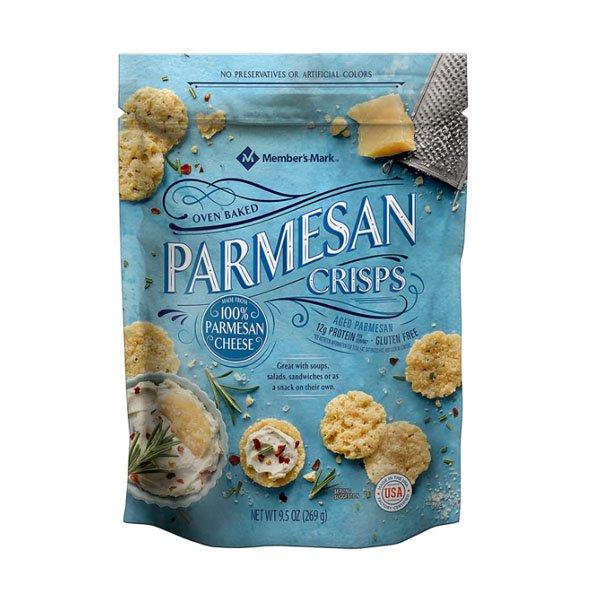 sm / parmesan snacks 269g Members Mark Parmesan Crisps