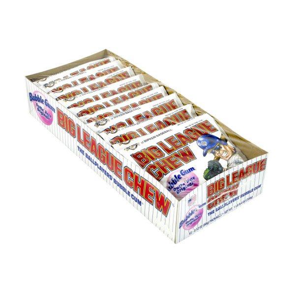 Big League Chew with 12 sm / big league chewing gum originals