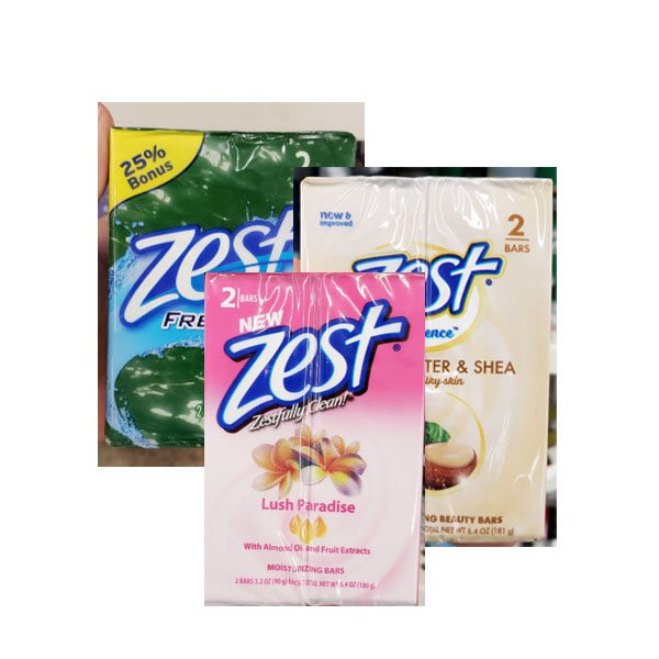 181 g five kinds of two D / Zest soaps