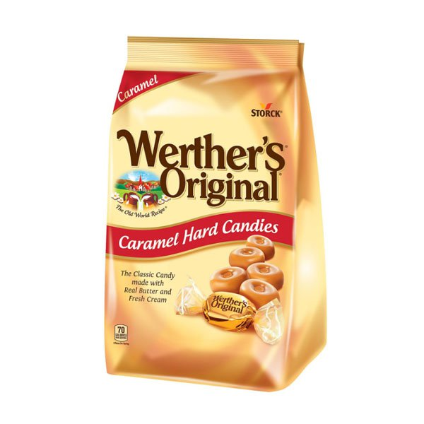 sm / Weathers Original Caramel Hard Candy 34oz Storck
