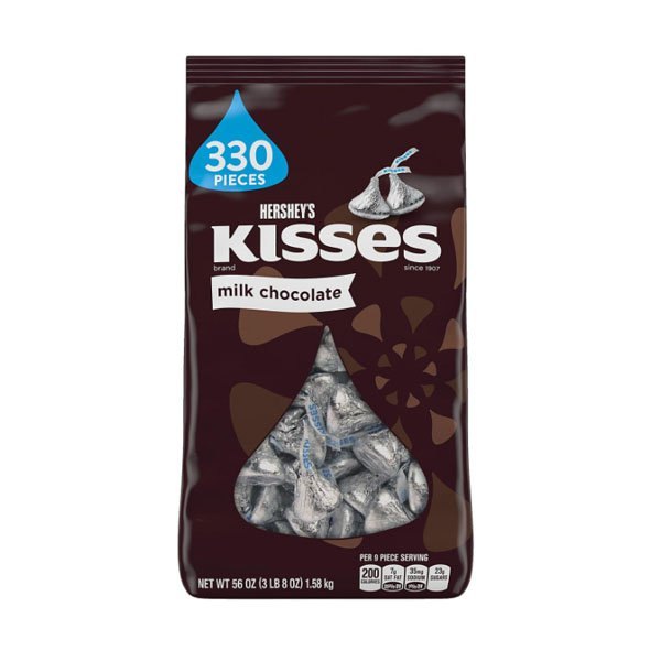sm / Hershey Kisses Milk Chocolate 1.58kg / 300ct