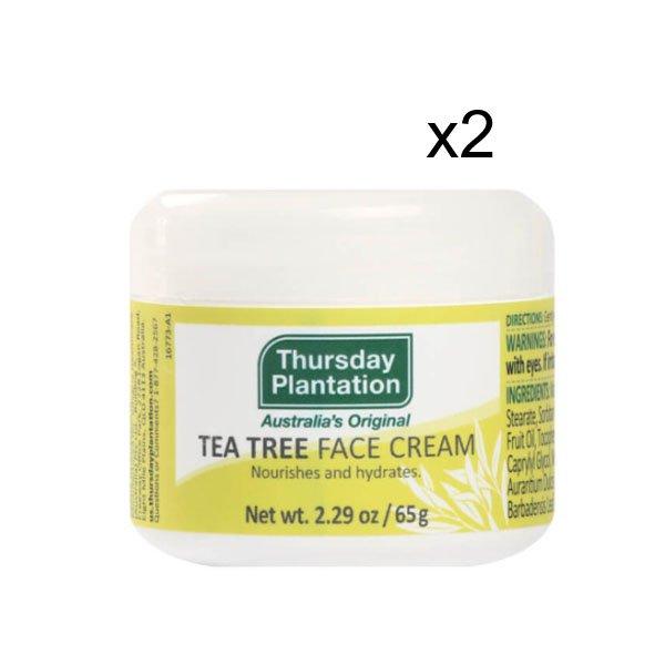 Three day plantation tea tree face cream TTFAC65-US