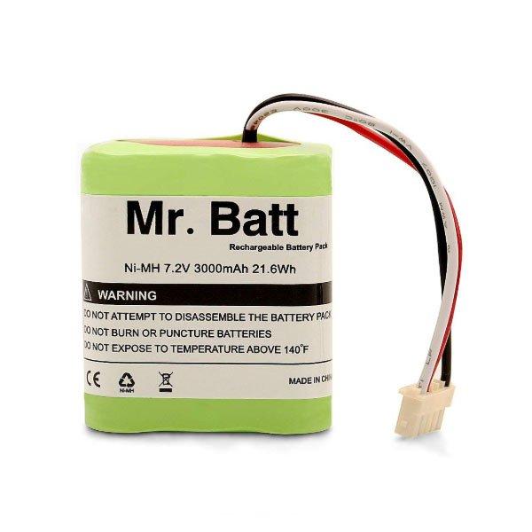 IRobot Brava 380t Large Capacity Battery Mr.Batt 3000mAh