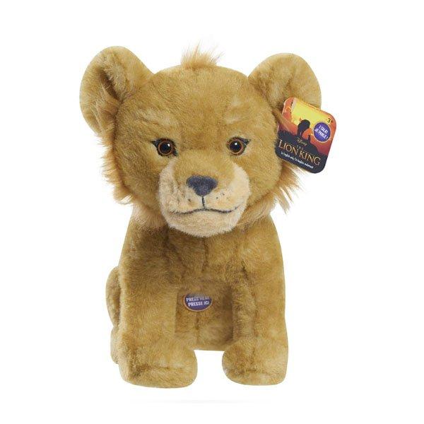 Lion King Live Action Bin Simba Plush Plush 9in