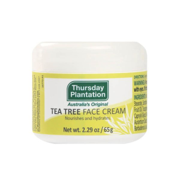 Third day plantation tea tree face cream 65g TTFAC65-US