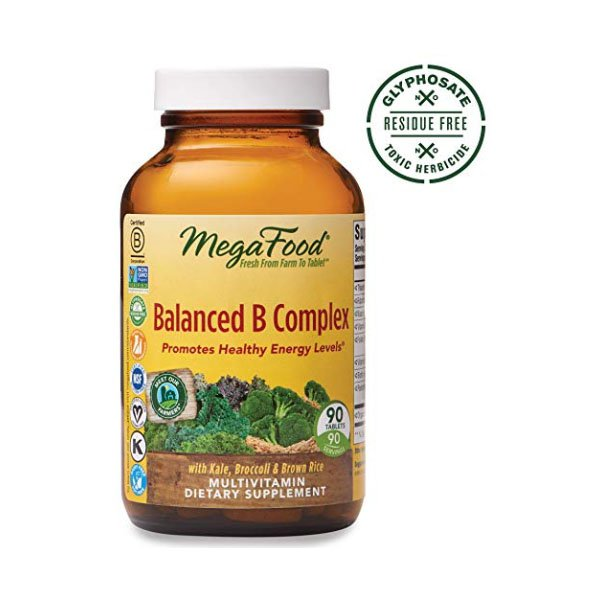 Mega Food Vitamin B Compound 90 Beige MegaFood, Balanced B