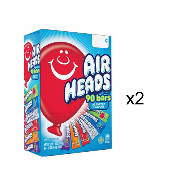 Sm / airheads candy 90 pieces AirHeads