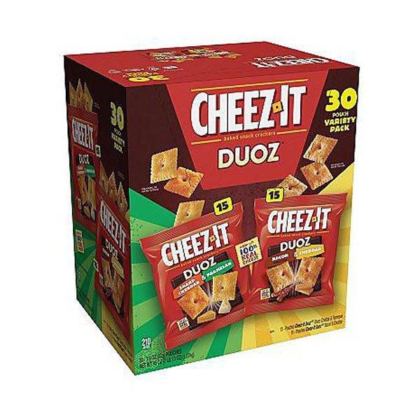 sm / Kellogg's Cheese 30ct Kellogg Cheez-It Duoz