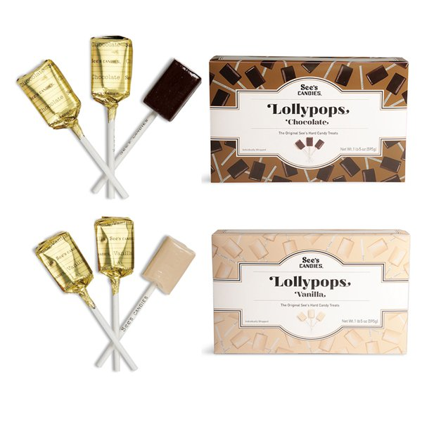 Seeds Candy Lollipop Set / Choice of 4 Seeds 1 / Sees Candy