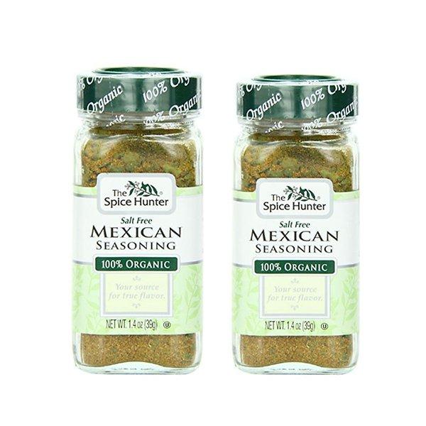 Maxi-Unsalted organic Khan seasoning bottle 39gx2 The Spice Hunter