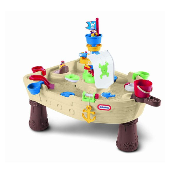 Little Tykes Water Sand Table Away Pirate Ship
