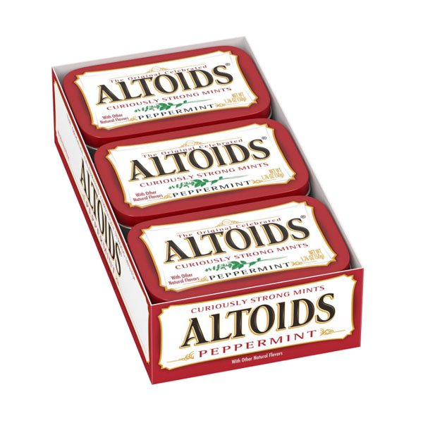 Altoids Peppermint 12 pieces of sm / altoise peppermint