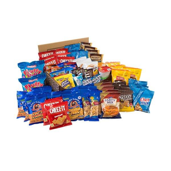 sm / Big Party Snack Box 75ct Big Party Snack Box Pros