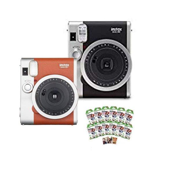 FUJIFILM Instax Mini 90 Camera w / MiniFilm 120ct