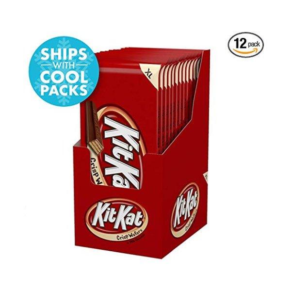 Chocolate Candy Bar XL Wafers 127gx12pcs Kit Kat