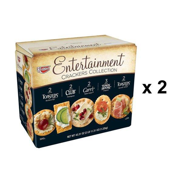 Sm / Kellogg Kibler Entertain Crackers 1.22kgx2 Pack