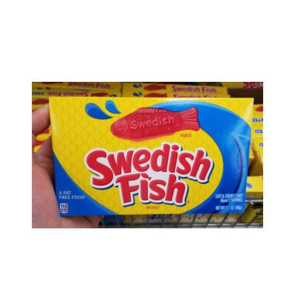 D / Swedish fish jelly 88 g three kinds swedish