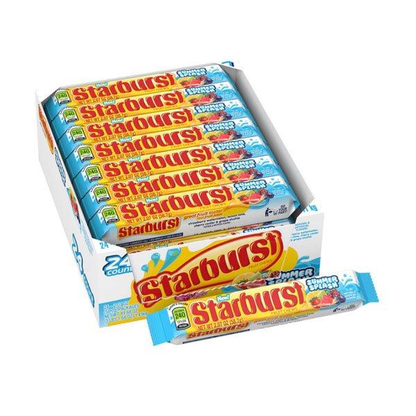 sm / starburst Summer Splash Candy 58.7g24 pieces Wrigley