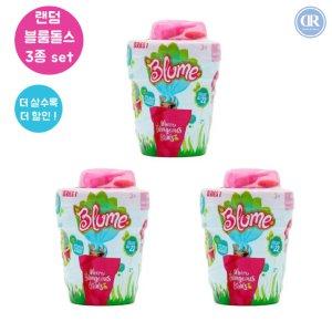 [드리미룸] 블룸돌스 set Blume Dolls 블룸돌즈 화분-2. 기획  랜덤 블룸돌스 3종