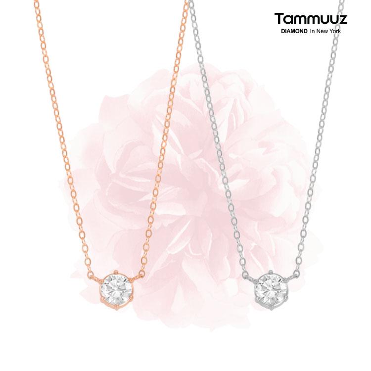 18K 3부/5부 프로포즈 다이아몬드 목걸이 특가