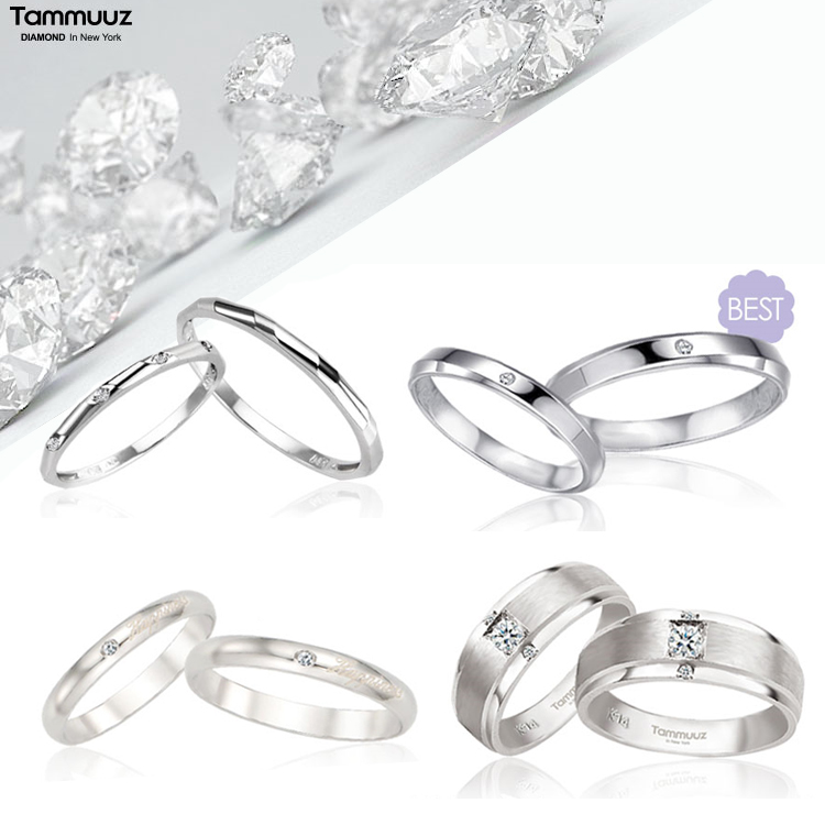 [타뮤즈] 14K 다이아몬드 커플링 BEST