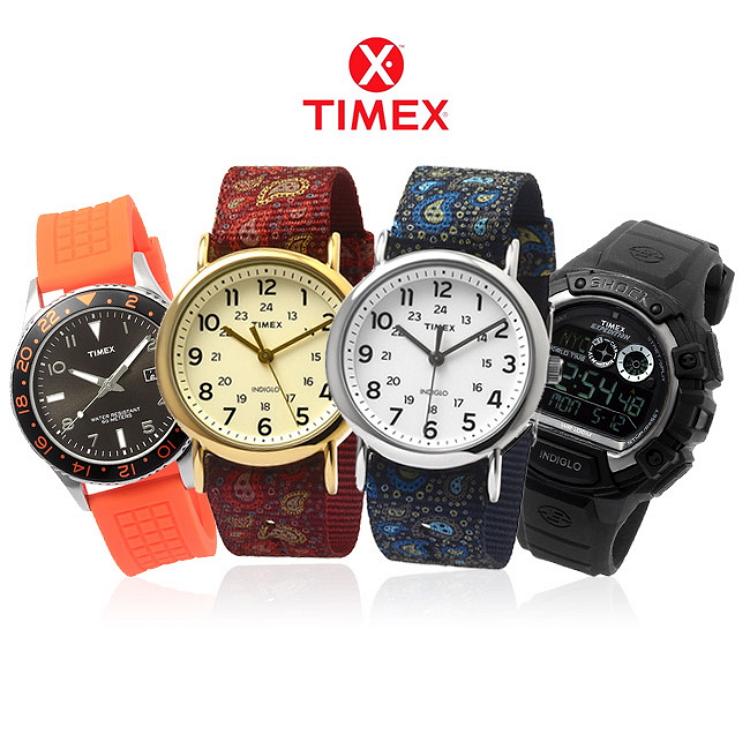 어디서나 타이맥스 시계 모음전!
